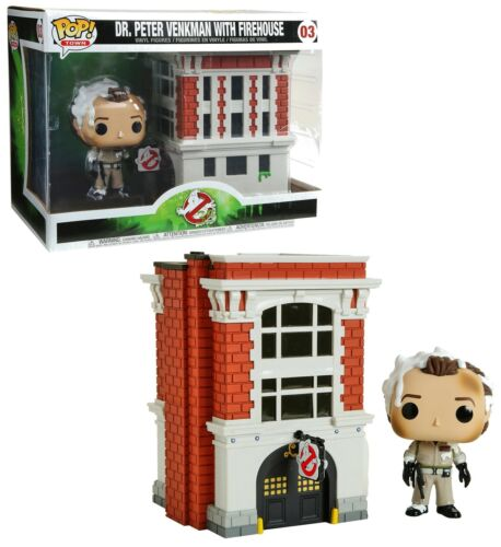 Funko Ghostbusters Pop! Peter Venkman with Firehouse n°03