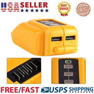 12V-20V-USB-Power-Source-for-DEWALT-CB090-Cordless-Phone-USB-Charger-US-STOCK