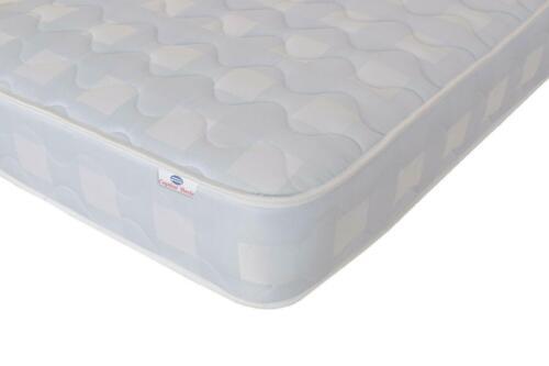 6 Sizes FREE P/&P Capital Beds Cool Blue Memory Foam Mattress Spring Mattress