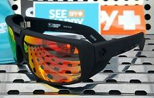 New Spy Optic TOURING 670795973365 Sunglasses Matte Black /Happy Red Spectra