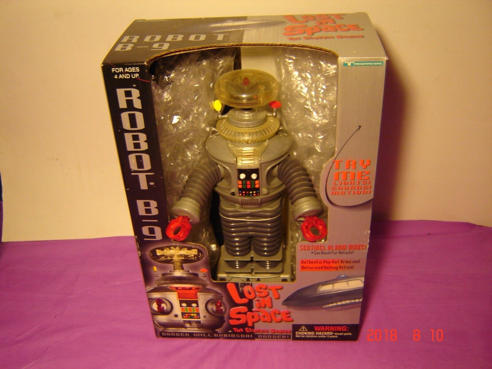1997 LOST IN SPACE ROBOT B-9 10