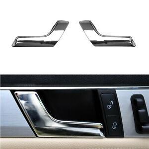 Mercedes W204 GLK Passenger Right Inner Interior CHROME Door Handle Repair Kit