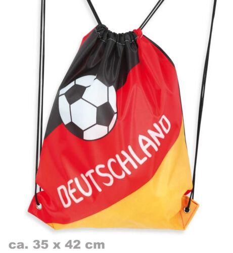 Turnbeutel mit Kordel Deutschland WM EM Fanartikel Fußball 124572613F