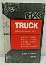 OEM Owner/'s Manual Ford Truck F/&B-Series//Medium /& Heavy Duty 1995