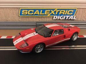 Scalextric Digital Feux de travail avant et arrière de Ford Gt    *  top Gear The Stig