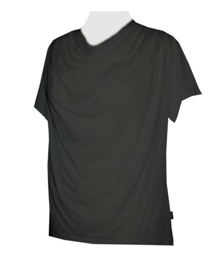 Schneider Sportswear Wasserfall Shirt Pulli T-Shirt weiß schwarz dunkelblau