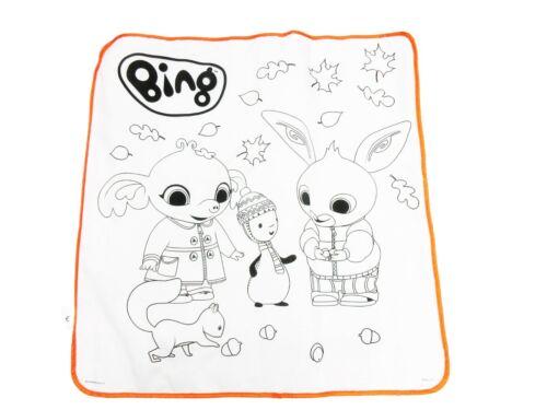 ODS 48400 BING Tappetone Lavabile da Colorare 70 x 70 cm Tappeto Creativo