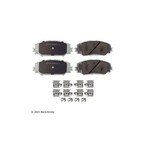 Beck Arnley Premium Asm Brake Pads With Hardware 085-6786