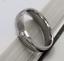 Anello-Fede-Fedina-Fidanzamento-Uomo-Donna-Acciaio-Inox-fascia-solitario miniatura 3