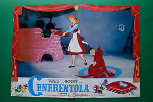 T10 Fotobusta Cinderella Walt Disney Animation Zeichentrickfilm Cartoon 2