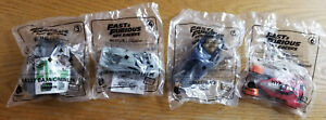 Fast-amp-Furious-Spy-Racers-Almost-Set-3-6-McDonald-039-s-Happy-Meal-Toy-LOT-3-4-5-6