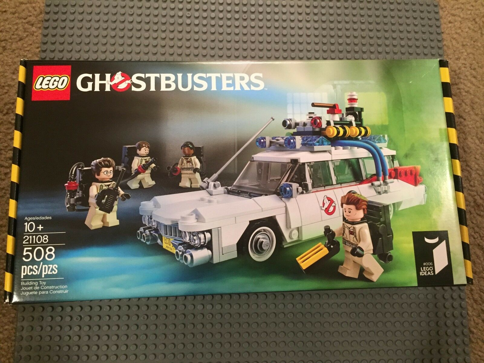 Lego 21108 Ideas Ghostbusters Ecto 1 brand new sealed box 4 minifigures rare