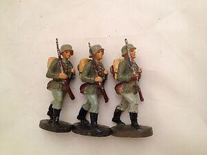 B21/ 3 Hausser Elastolin Figuren 2 Wk. von ca. 1935 - Deutschland - B21/ 3 Hausser Elastolin Figuren 2 Wk. von ca. 1935 - Deutschland