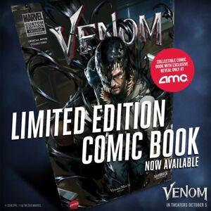 MARVEL-LIMITED-EDITION-AMC-Exclusive-Movie-VENOM-1-One-Shot-Comic