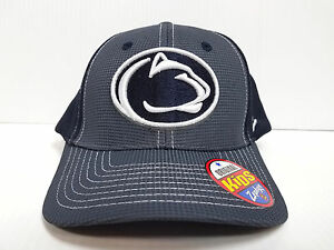 2c7d71af4c7d07 YOUTH Penn State Nittany Lions Cap Zephyr Stretch Fit Fitted Grid 2 ...