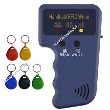 Handheld Rfid 125khz Card Reader Copier Key Reader Writer Duplicator