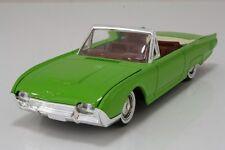 SOLIDO 1:43 DIE CAST AUTO FORD THUNDERBIRD 1961 VERDE CHIARO GREEN  ART 4504