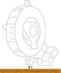 image is loading dodge-chrysler-oem-journey-airbag-air-bag-clockspring-