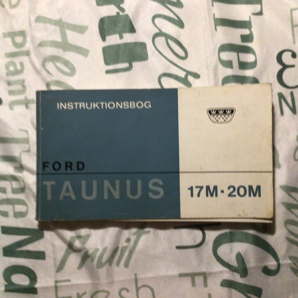 Ford, Instruktionsbog