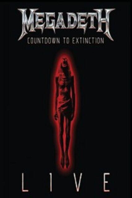 MEGADETH - COUNTDOWN TO EXTINCTION: LIVE (DVD)  HARD & HEAVY/THRASH METAL  NEU