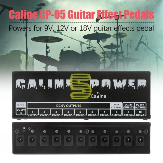 Caline Power Supply Station Output For 9V/12V/18V Guitar Effect Pedal Board VN