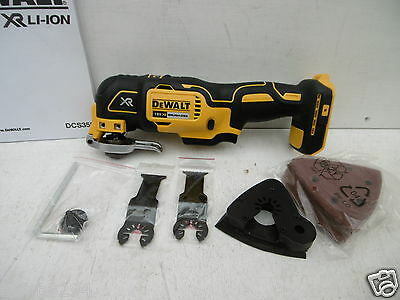 BRAND NEW DEWALT DCS355 XR 18V OSCILLATING MULTI TOOL BARE UNIT + 28PCE SET