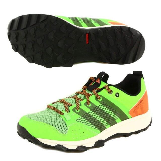 ceb8cc6ebf6d adidas Men s Kanadia 7 TR Trail Running Shoe Neon Green orange 10 M ...