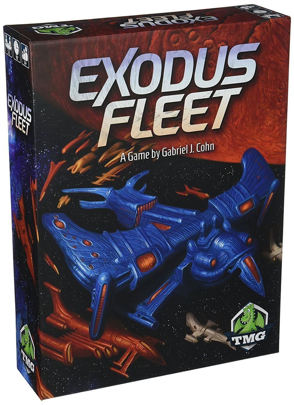 Tmg - exodus flotte - tolles spiel - neue schrumpfen