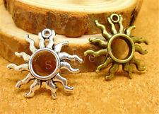 5//20//100pcs Wholesale Tibetan Silver Lovely owl Jewelry Charm Pendant 21x19mm