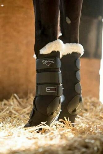 NH /%SONDERAKTION:LeMieux LUXURY Stable Protector Boots Stallgamaschen Transport