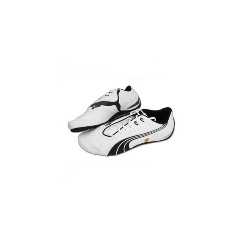 Pantoufles Ferrari Drift Cat NM blanc Taille 43