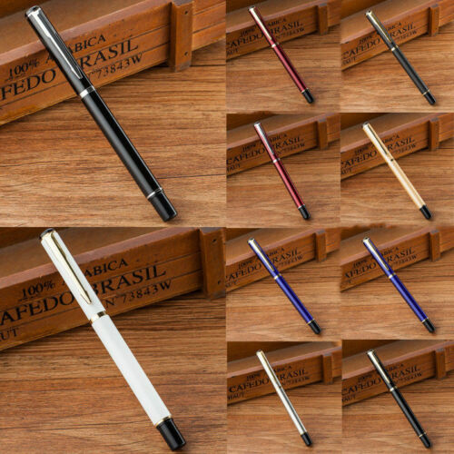 Alloy Gel Ink Sign Pen Stationery Business Office Supply Collectible Writing