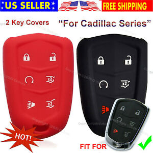 2 Silicone Cover Holder Protector Remote Skin Smart Entry Fob Case for GTR Key