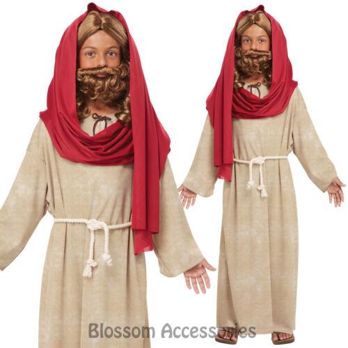 CK298 Child Jesus Christ Religious Holy Easter Christmas Boys Biblical Costume