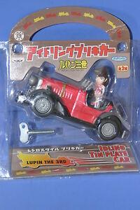 LUPIN-the-3RD-034-Fujiko-Idling-tin-plate-Car-034