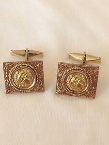Ancient-Greek-Coin-Alexander-The-Great-In-18K-Gold-Handmade-Cufflinks