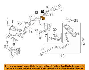 09 jetta engine diagram vw volkswagen oem 09 14 jetta 2 0l l4 exhaust flap 1k0253691j ebay  vw volkswagen oem 09 14 jetta 2 0l l4