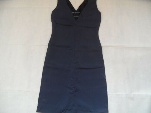 44 In With Chice Strapless Versace Top Blue Chains Kw918 Versus 30 il Sz Dress wRPaZX