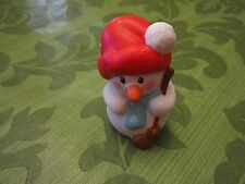 Fisher Price Little People Advent Calendar Christmas part Snowman broom flake