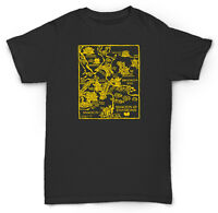 Wu Tang Clan Map T Shirt Raekwon 36 Chambers Rza