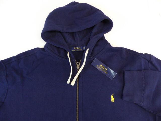 Buy Polo Ralph Lauren Big Tall Classic Fleece Full-zip Hoodie Mens ... 7d973ac2c