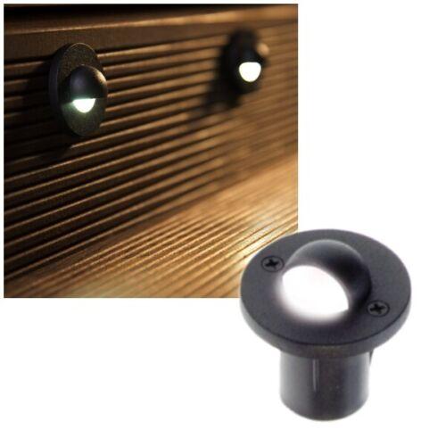 6er Set DEL Sol Installation-lampe-projecteur Murcie 230 V Aube Capteur Heitronic