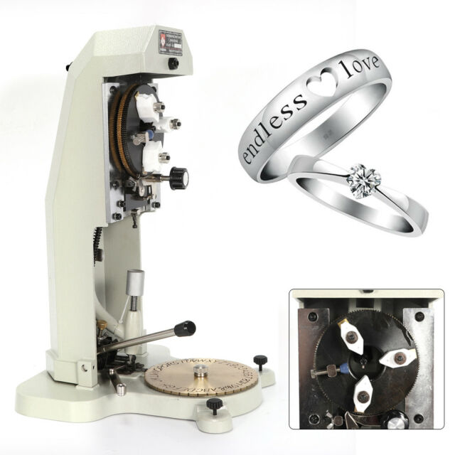 Inside Ring Engraving Machine Ring Engraver Two Faces Dial Jewelry Making Tool