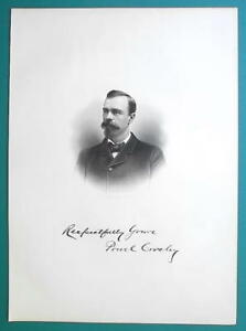 POWEL-CROSLEY-Ohio-Lawyer-Solicitor-1881-Superb-Portrait-Print