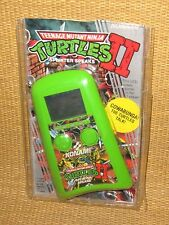 Turtles II Splinter Speaks | 1990 Konami TMNT Handheld LCD Video Game w/ PACKAGE