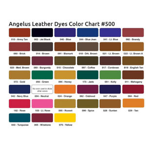 Angelus Leather Dye Orange 88 ml (11,30€/100 ml)