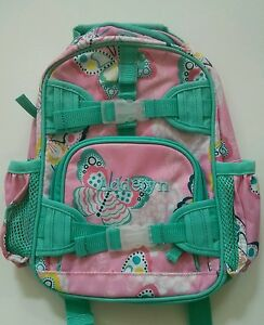Pottery Barn Kids Mackenzie Pink Butterfly Mini Preschool