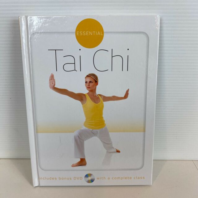 Essential Tai Chi Hardcover Book includes bonus DVD with a Complete Class