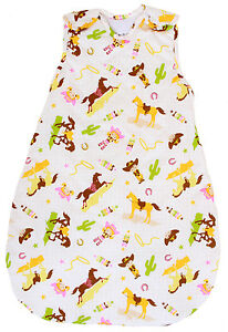 1 Tog Sleeping Sack Summer Model Double Layered BabyinaBag Baby Sleeping Bag