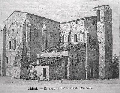 Portonovo Poggio d/'Ancona 1889 Chiesa di Santa Maria Passepartout Ancona